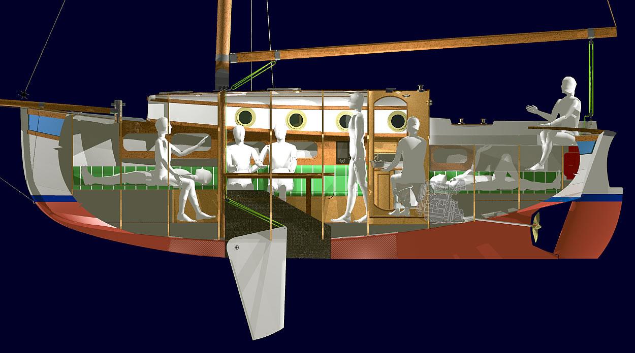 Трейлерные яхты компромисс своими руками построить 69